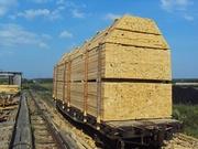 Качественный пиломатериал вагонами